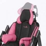 Dreidimensional einstellbare Kopfstütze für ermüdungsfreies, entspanntes Sitzen