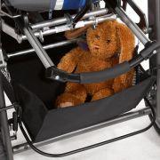 Extra großer Korb bietet viel Platz, ideal für unterwegs