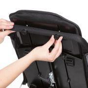 Rückenhöhenverstellung mit Verlängerung der Körperseitenführung