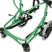 Beintrennplatte verhindert das Überkreuzen der Beine beim Gehen