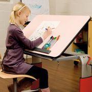 Tischplatten mit individueller Schrägverstellung
