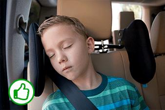 cardiff kopfst tze entspannt und sicher im auto schlafen. Black Bedroom Furniture Sets. Home Design Ideas